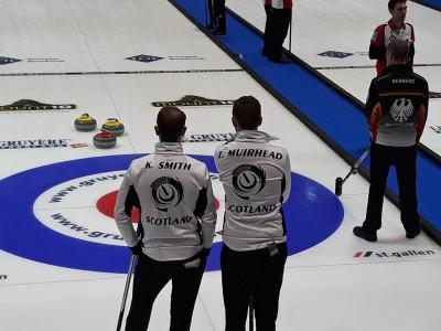 Olympians Back at Dewars