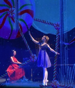 'The Nutcracker and I' by Alexandra Dariescu, is a new and innovative 50-minute live performance based on the magical Christmas story, for anyone who dares to dream with a pianist, ballerina and exquisite digital animations.