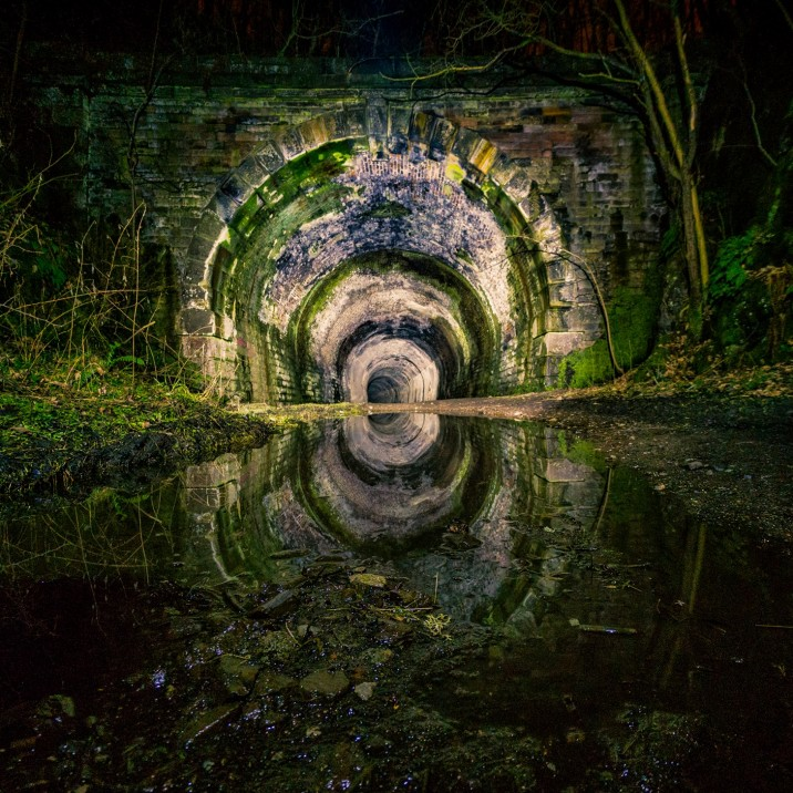 Reflections Gallery- Spooky Glenfarg Tunnels