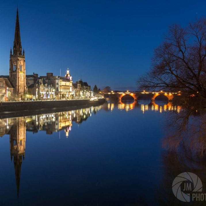 Reflections Gallery- Tay Street Skyline