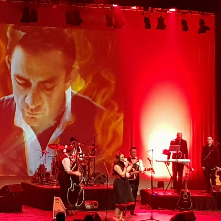 Clive John is the only Johnny Cash tribute act to be endorsed by the Cash family, last week he played Perth Concert Hall