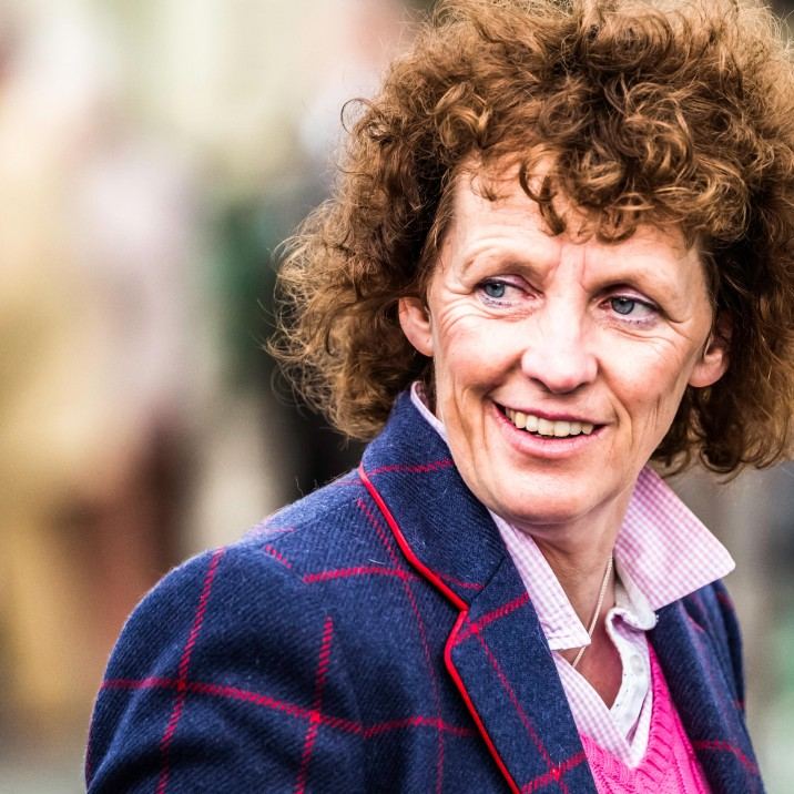Lucinda Russell is a Grand National-winning horse racing trainer based near Milnathort, Perthshire.
