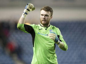 Zander Clark has been with St. Johnstone since 2008 and has become known as one of Scotland's finest young 'keepers.