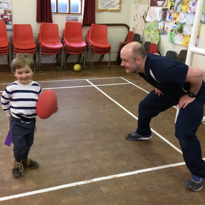 Rugby Nippers kids sports classes Perhthsire