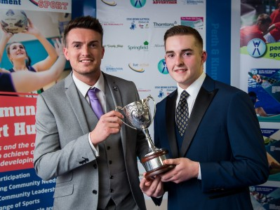Ben Scoops Sports Award