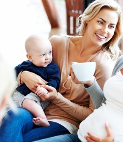 A weekly group for parents with babies under 12 months and pregnant mums