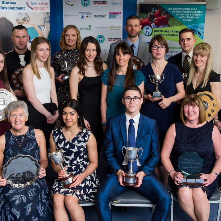 Nominate Your Local Sporting Hero - Perth and Kinross Sports Awards Open for 2019 Nominations, Live Active Leisure