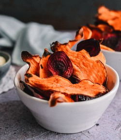 Homemade Vegetable Crisps