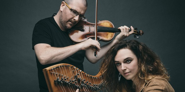 Harpist Catriona McKay and fiddler Chris Stout have their roots deep in Scottish