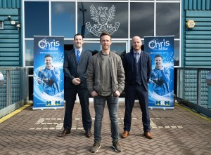 St. Johnstone midfielder Chris Millar's testimonial year has been officially launched today at McDiarmid Park.