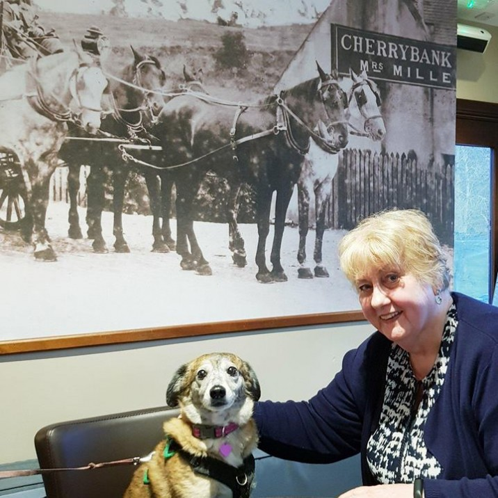 MILLIE AND NORMA AT CHERRYBANK