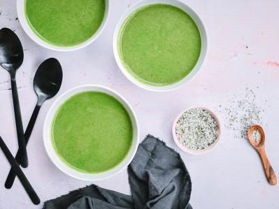 Spinach & Garlic Soup