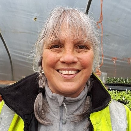 Norma Forbes is a lifelong saintee and works as a team leader at Southton Smallholding just outside Perth.