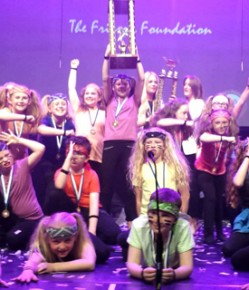 The Frisson Foundation is proud to present The Perth & Kinross Primary Schools Glee
