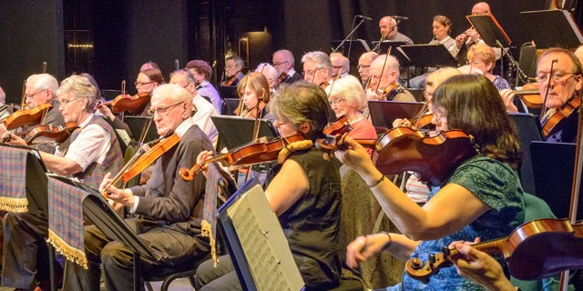 Returning to Perth Theatre for its Annual Fiddlers' Rally is this popular local orchestra, founded in 1989, and still going strong.