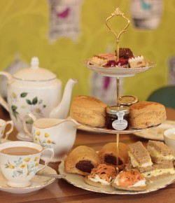 Glendoick Garden Centre Café, located in the Carse of Gowrie is delighted to launch their new afternoon tea.