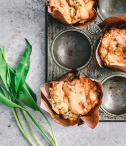 Wild Garlic Savoury Muffins