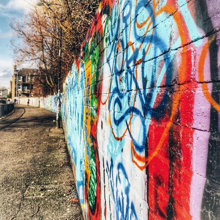 The City of Perth has plenty of beautiful street art on offer.  We check it out.
