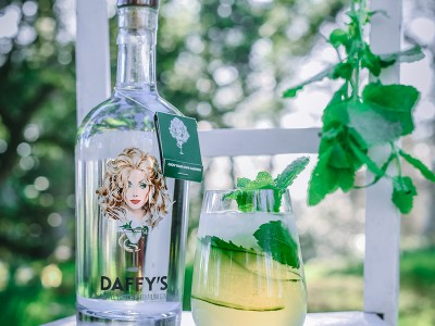 Mint and Cucumber Gin Fizz