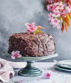 The Ultimate Vegan Chocolate Fudge Cake
