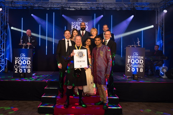 Perth winners at the Scottish Food Awards