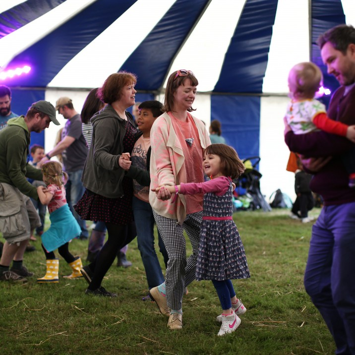 Solas Festival is great fun for all the family.