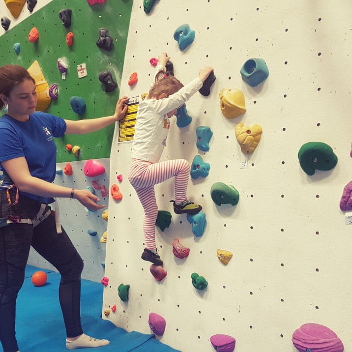 Toddler kids Climbing Classes Perth College
