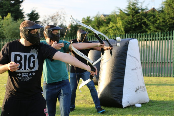 Outdoor Archery Tag at Activity Delivered in Perth