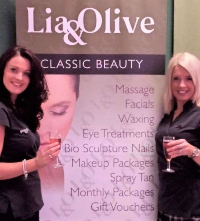 Lia and Olive beauty salon.