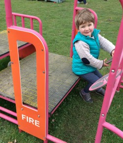 Alice headed out for a fun filled day with her little man at the Time2Play sessions run by Perth and Kinross Council.