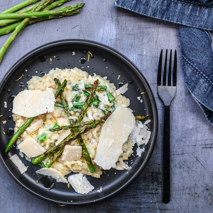 Gluten Free Recipe for Asparagus Lemon Risotto
