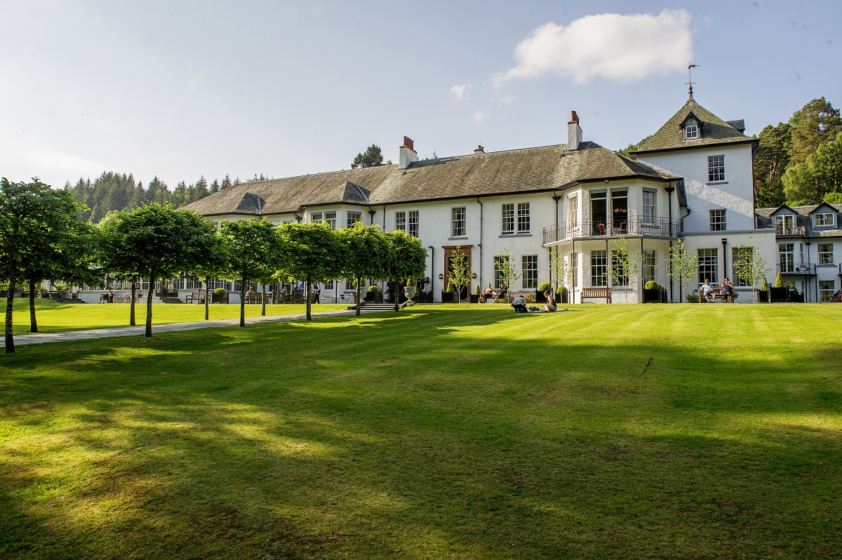 Nestled into the beautiful Perthshire landscape, Dunkeld House Hotel boasts an unrivalled experience of Scottish country living.