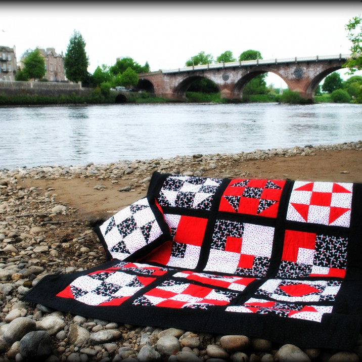 Specialised patchwork and quilting shop in the centre of Perth, Scotland.