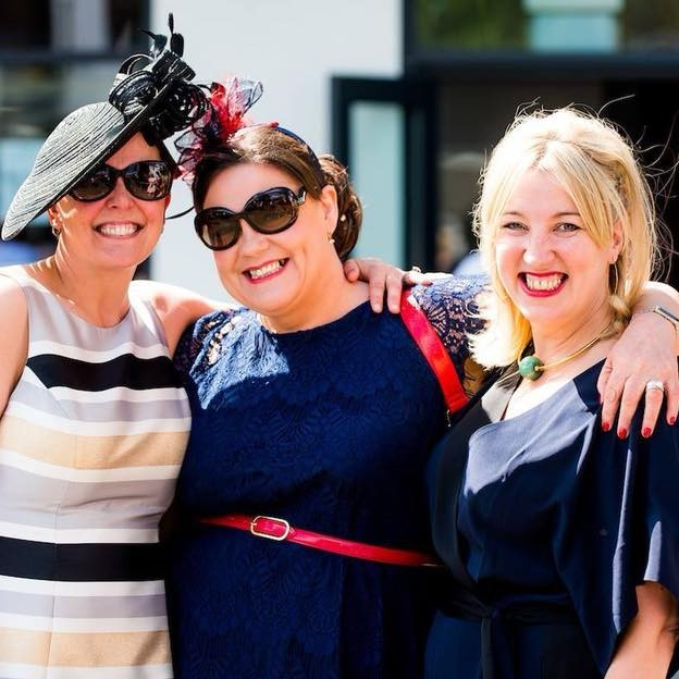 Red String Agency founder Nicki enjoys a day at the races with her besties Judi Duncan and Kelly Brown