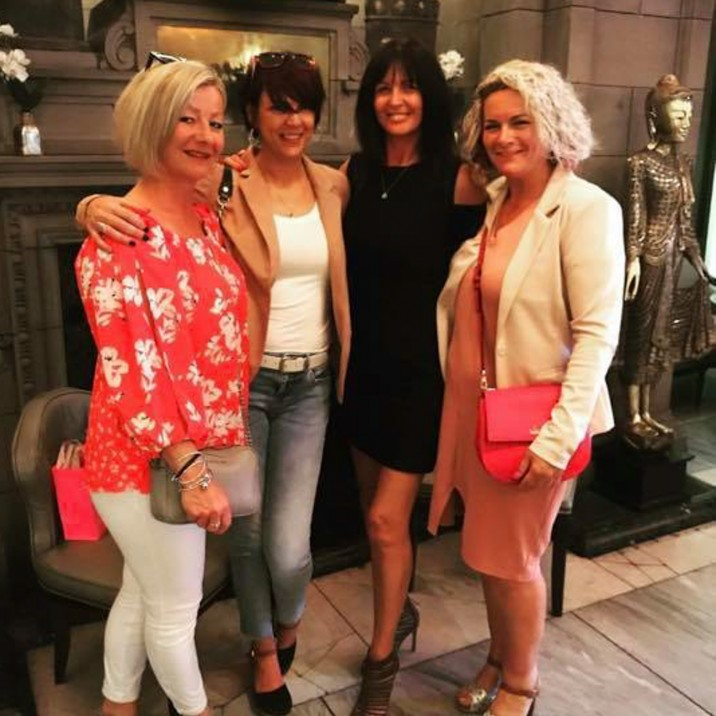 Sonia Hamilton's Glam squad Girl Gang! Lynne Town, Janice Bell and Julieanne Flynn