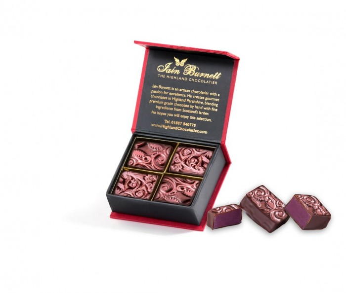 Ruby Velvet Truffle Box