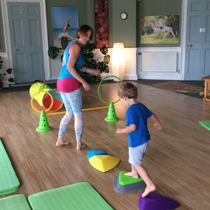 Mini Movers Childrens Yoga Class Perth Yoga Studio Scotland