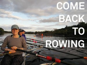 Return to Rowing on the River Tay in Perth City Centre