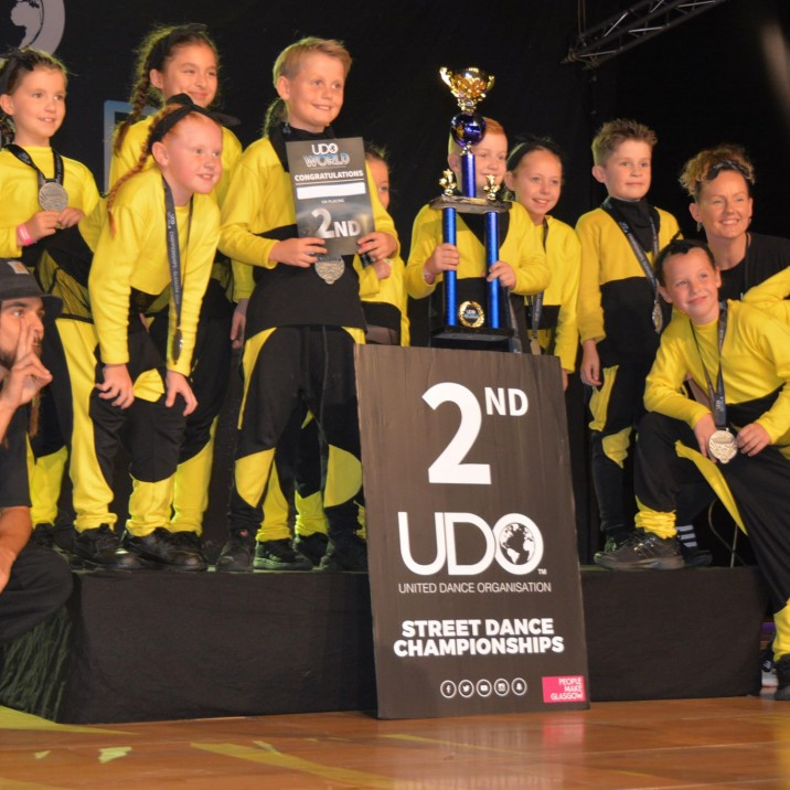 Well Done J Crew 2!! They placed 2nd in the WORLD at the UDO World Championships!!