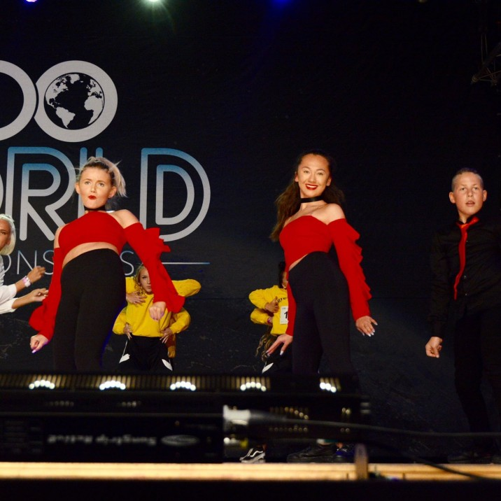 JGN Dance Studio had a number of talented dance groups at the 2018 UDO World Championships.