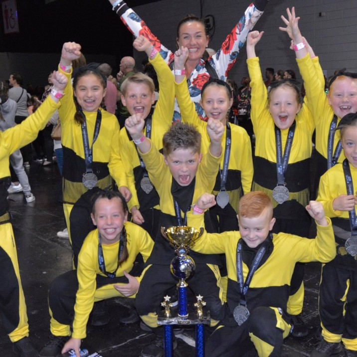 J Crew 2 were celebrating after placing 2nd in the world at the 2018 UDO Championships!!! Well done to them all, what an amazing result!