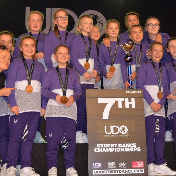 'No Filter' Placed 7th in the World at the 2018 UDO World Championships!! Well done guys!!