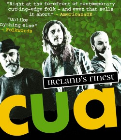 Irish Band cua's music grabs you by the scruff of the neck and demands attention!