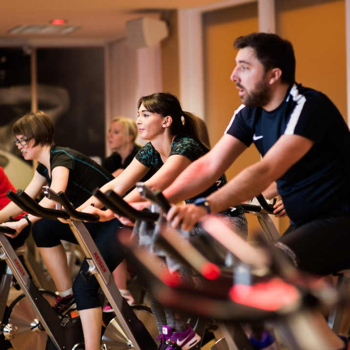 The Spin classes at Bells Sports Centre are very popular. They have fully qualified instructors that make the classes fun and effective.