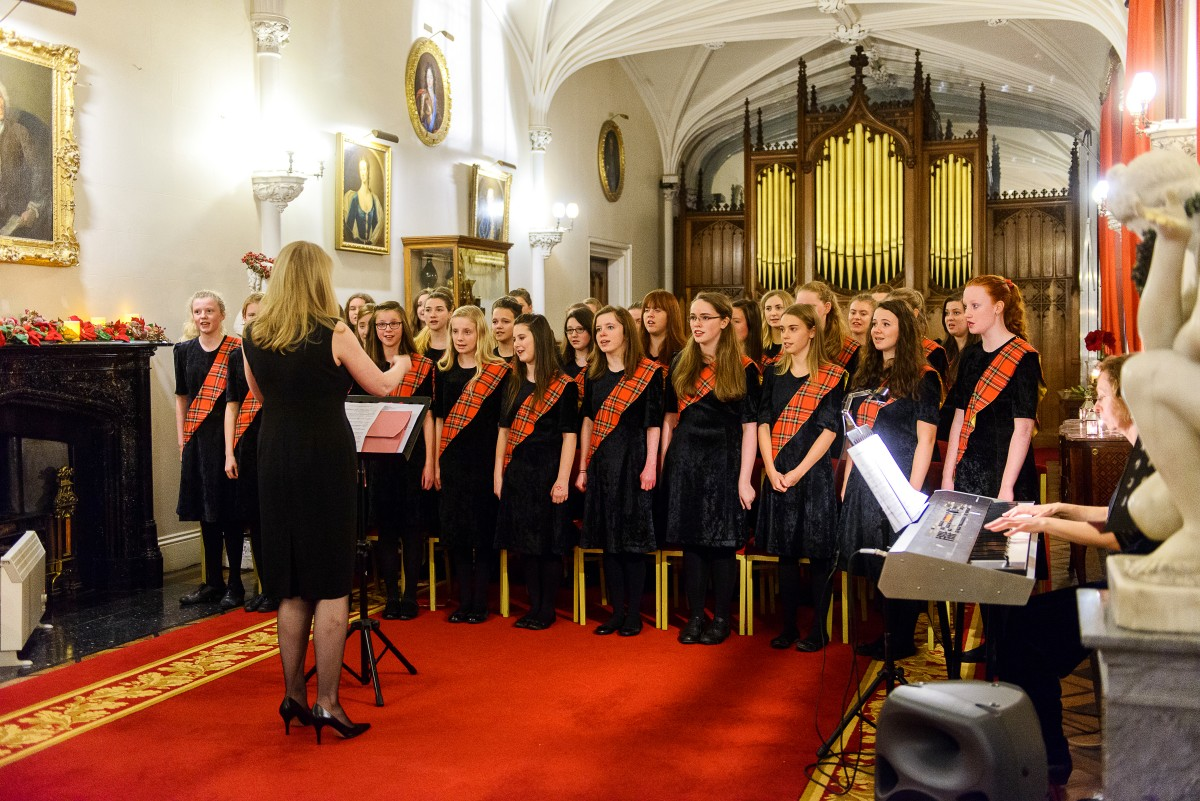 The Perth Fair City Singers head to Scone Palace for an unforgettable Christmas Carol Concert to get you in the festive spirit.