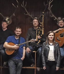 Winners of the Scots Trad Awards Folk Band of the Year