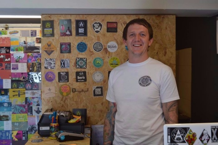 Danny of Craft Beer Bottle Shop