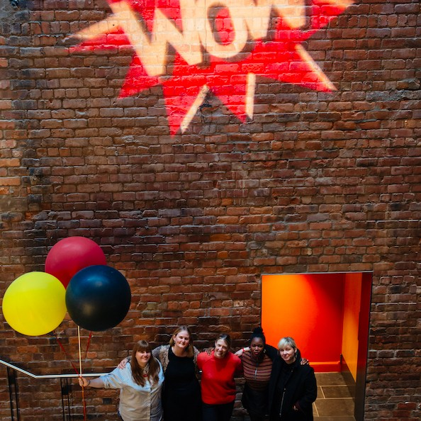Some of the women who worked behind-the-scenes this year to ensure WOW Perth was better than ever!