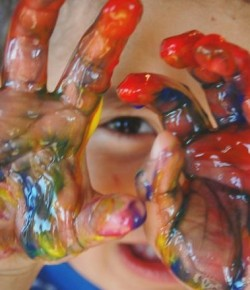 Get messy, get hands on and have fun at Perth Museum and Art Gallery.