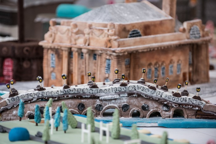 Many famous landmarks in Perth are to be temporarily immortalised in flour and sugar.